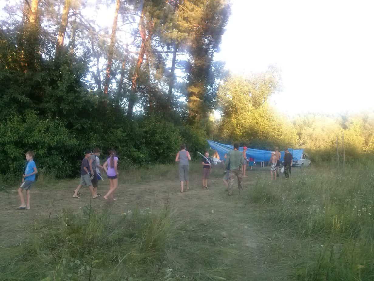 www.snail.org.ua эйдетика детский лагерь в лесу 2017_07_31 08